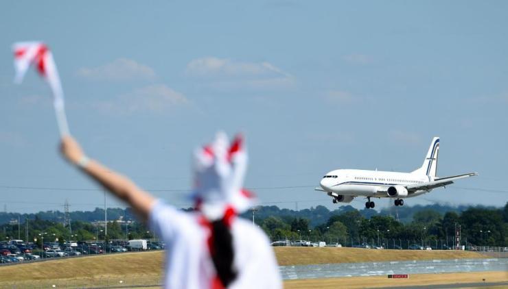 England plane