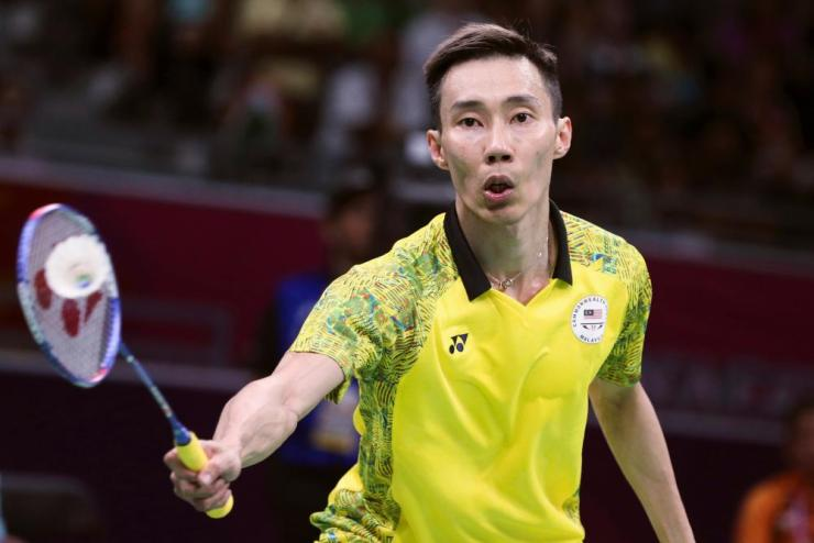 Lee Chong Wei of Malaysia continued his gold medal winning form in the men's singles final.