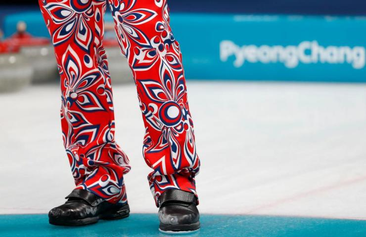 Norway curling trousers