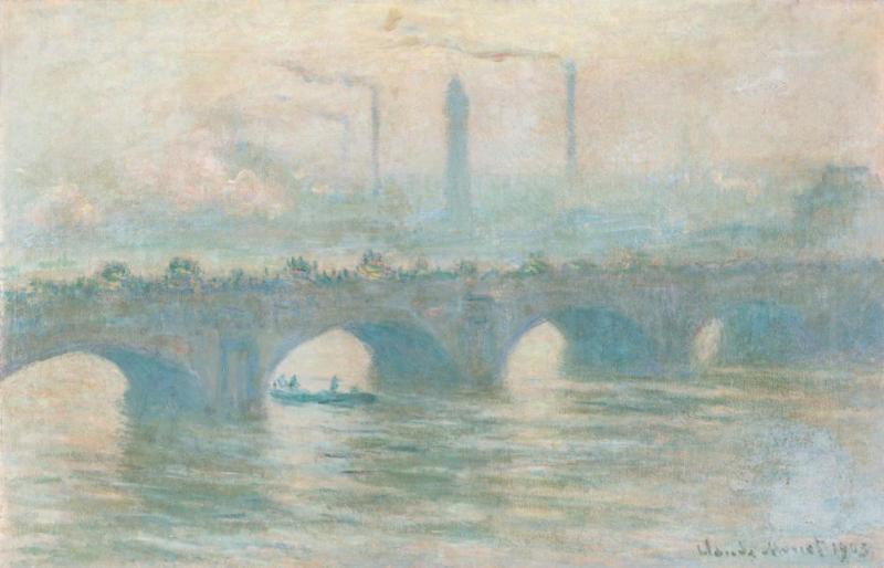Claude Monet - Waterloo Bridge 1903