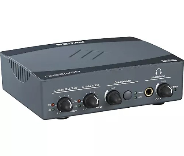 E Mu  0 Audio Interface