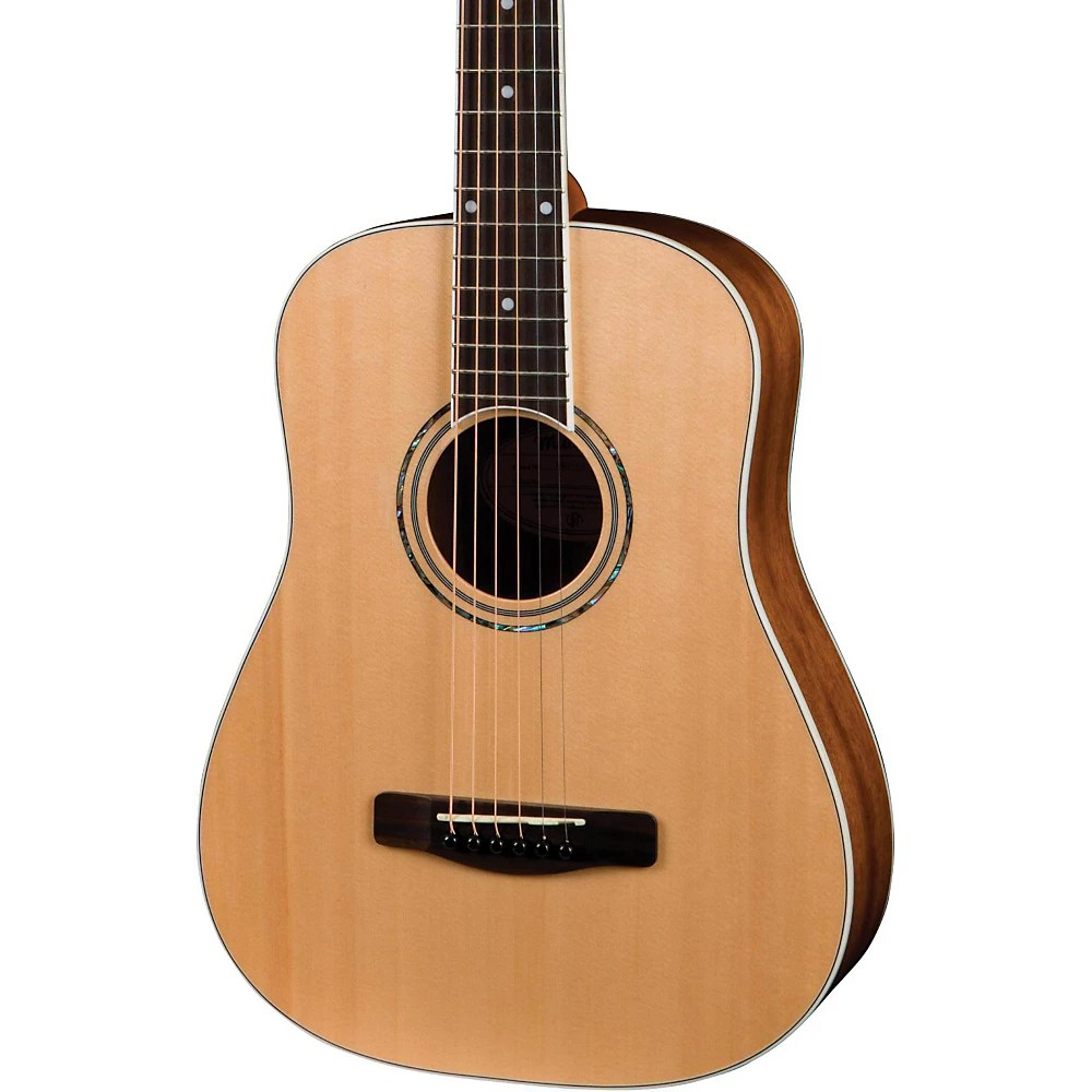 Mitchell MDJ10 Junior Dreadnought Acoustic Guitar with Gig Bag Natural