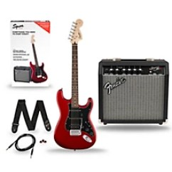 Stratocaster Hss Wiring Diagram 2001 Jeep Cherokee Squier Affinity Pack Electric Guitar With Fender Frontman 15g Amp