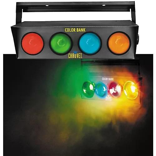 CHAUVET DJ Color Bank 4Color SoundActivated Light