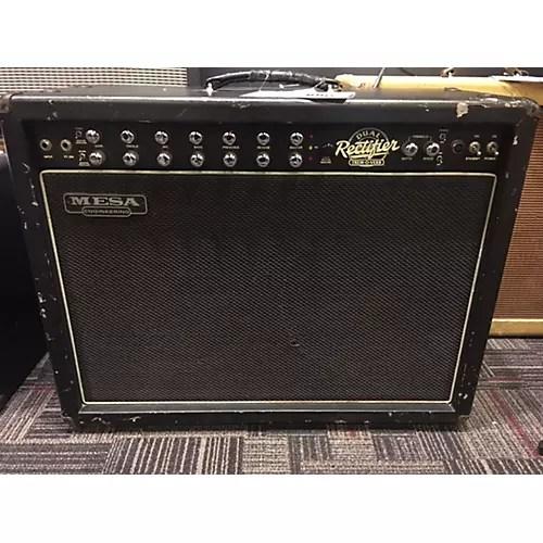 Used Mesa Boogie Dual Rectifier 100W Tube Guitar Amp Head