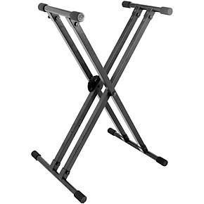 On-Stage Stands Heavy-Duty Deluxe X ERGO-LOK Keyboard