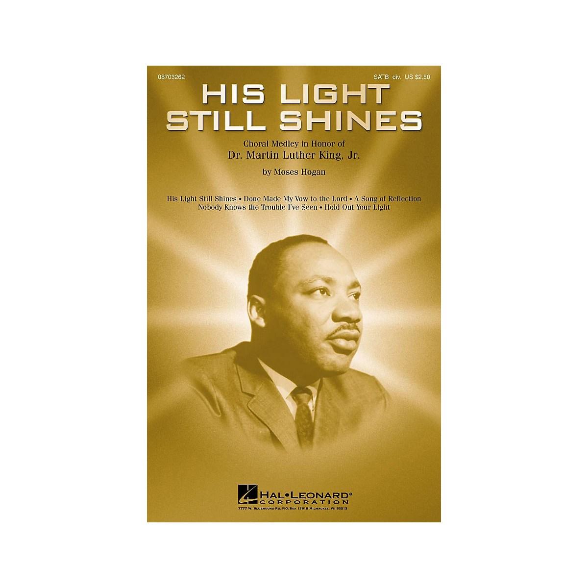 Hal Leonard His Light Still Shines Medley In Honor Of Dr