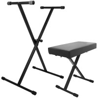 On-Stage Stands Keyboard Stand and Bench Pak | Guitar Center