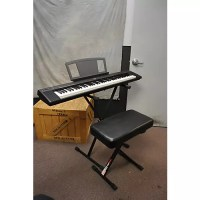 keyboard stand and bench set used yamaha np30 76 key ...