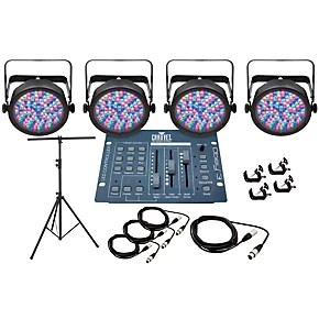 CHAUVET DJ Par 56 4 Light System  Guitar Center