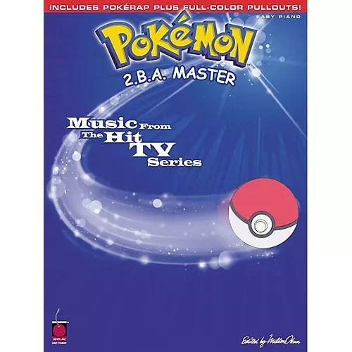 Cherry Lane Pokemon 2BA Master For Easy Piano Guitar