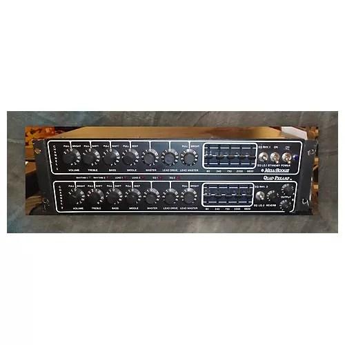 Used Mesa Boogie QUAD PRE AMP Guitar Preamp  Guitar Center
