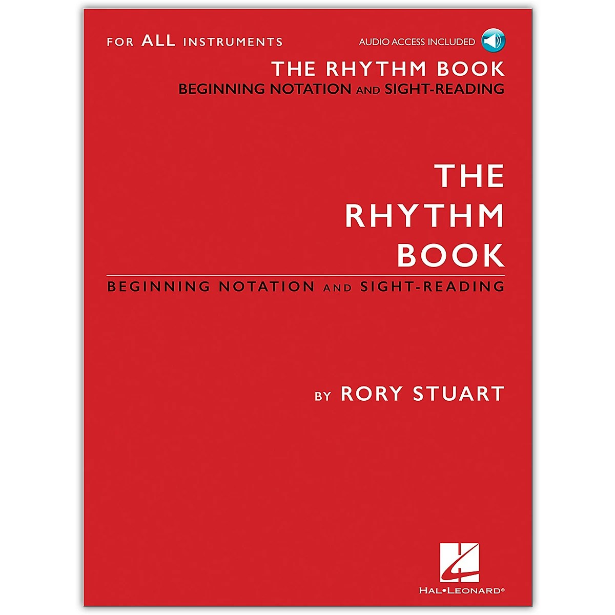 Hal Leonard The Rhythm Book Beginning Notation And Sight