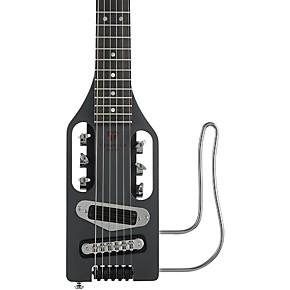 Traveler Guitar UltraLight Electric Travel Guitar Black