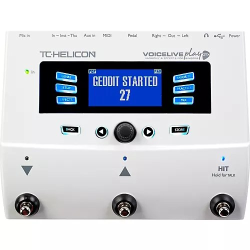 TC Helicon VoiceLive Play GTX GuitarVocal Harmony and