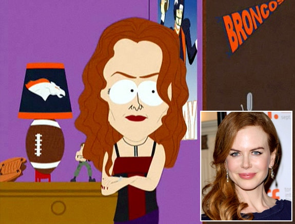 Celebrity Impersonations on South Park