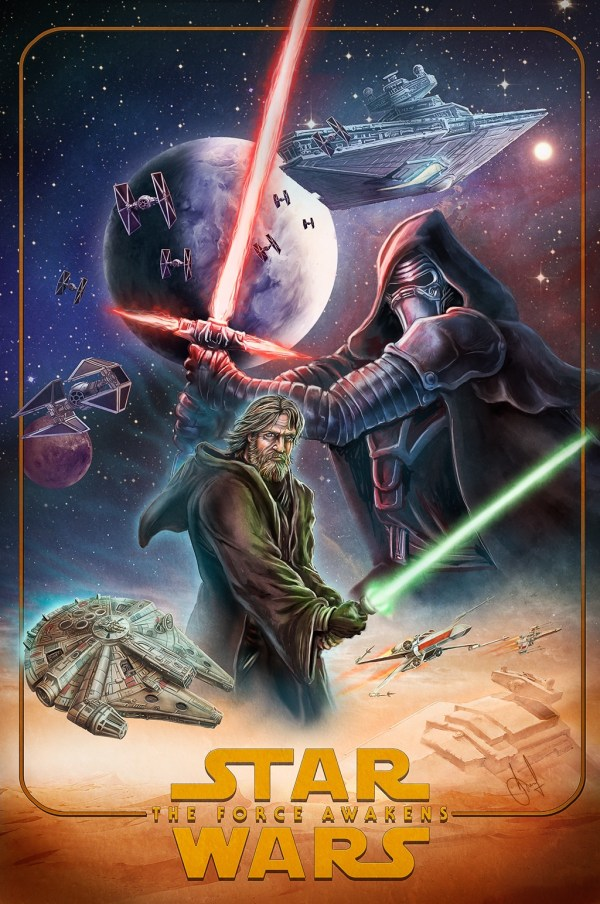 Epic Posters Star Wars Force Awakens