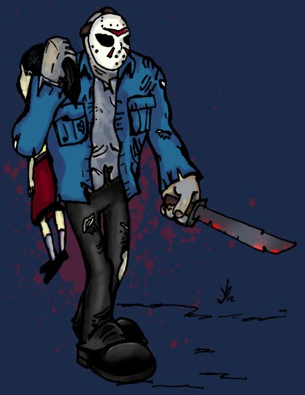 A Gallery Of Badass Jason Voorhees Art