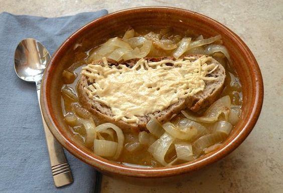 Zuppa di cipolle  ricetta vegan