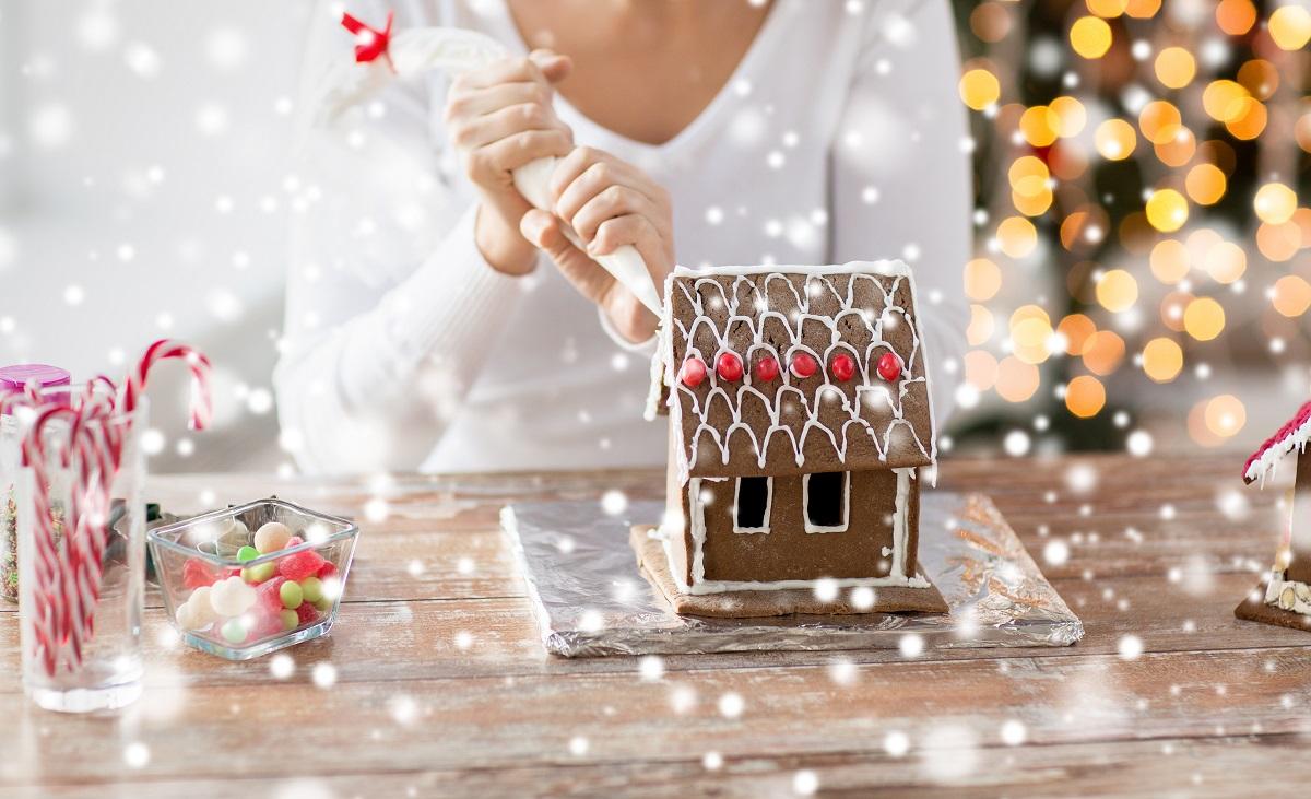 Casetta di Natale in pasta frolla  Ricetta