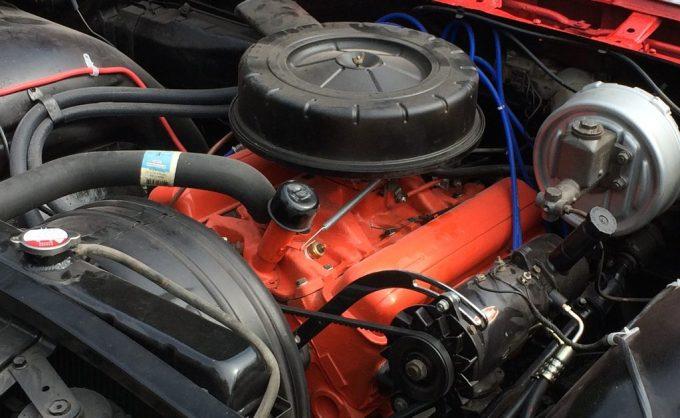 1959 Chevrolet Impala restored engine