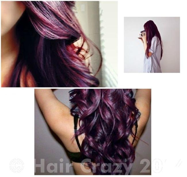 Burgundy Plum Hair Dye