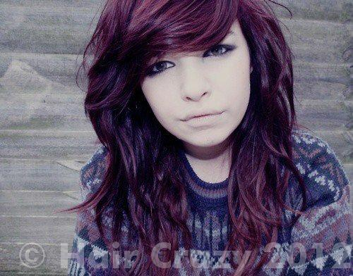 Dark Purple Hair Color Tumblr