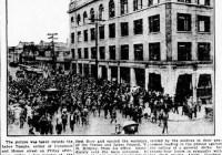 نخستین اعتصاب عمومی ونکوور