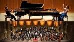 دونوازى پیانوى «ایمان حبیبى و همسرش» با «ارکستر سمفونیک ونکوور» در اجراى سوئیت «کارناوال حیوانات»