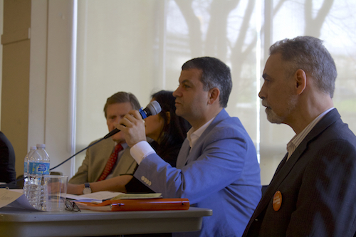 گزارشی از جلسهٔ پرسش و پاسخ احزاب در منطقهٔ نورث شور - سیما غفارزاده