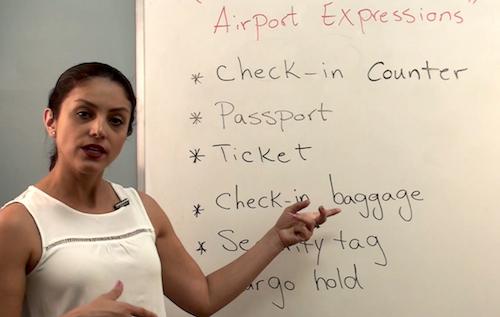 اصطلاحات کاربردی در فرودگاه