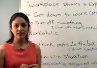 اصطلاحات کاربردی و روزمره در محیط کار