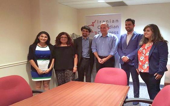 گفتوگوی رسانههای فارسیزبان با گی کرون، بهدعوت کنگرهٔ ایرانیان کانادا
