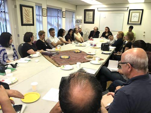 جلسهٔ داستاننویسی با میهمان این نشست، مریم رئیسدانا