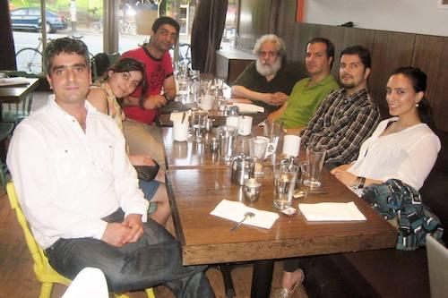 جلسهٔ «کافه راوی» با حضور محمد رحمانیان