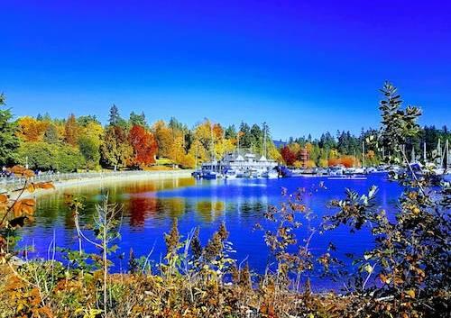 پارکها و مکانهای دیدنی ونکوور در فصل پاییز