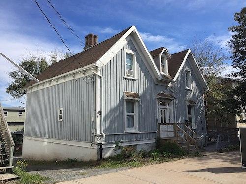 خانهٔ سر سندفورد فلمینگ از سال ۱۸۶۶ تا ۱۸۷۱ در خیابان برانزویک در شهر هالیفاکس