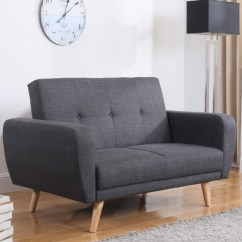 Sofa Bed Made In Uk Cheers Clayton Motion Leather And Loveseat Farrow Grey Fabric