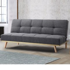 Sofa Bad Signature By Ashley Hillspring Beds Happy Snug Grey Fabric Bed