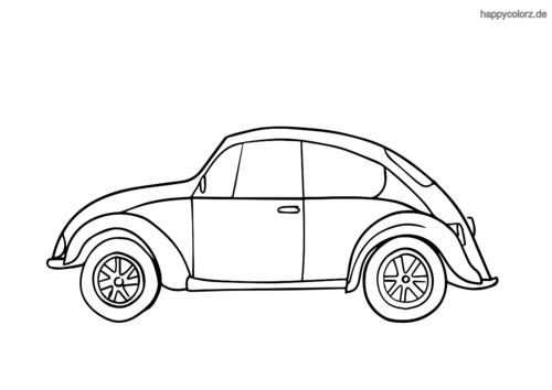 Malvorlagen Coole Autos