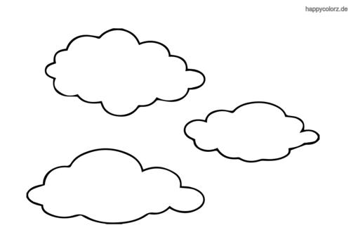 Sonne Und Wolken Ausmalbild - Best Ausmabilder 2020