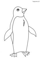 pinguin malvorlage