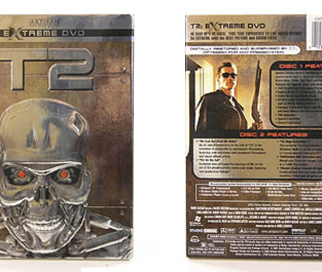 The Two Disk T2 Extreme Dvd Set With Wmv9 Hd Content Click Here For A Full Size Image