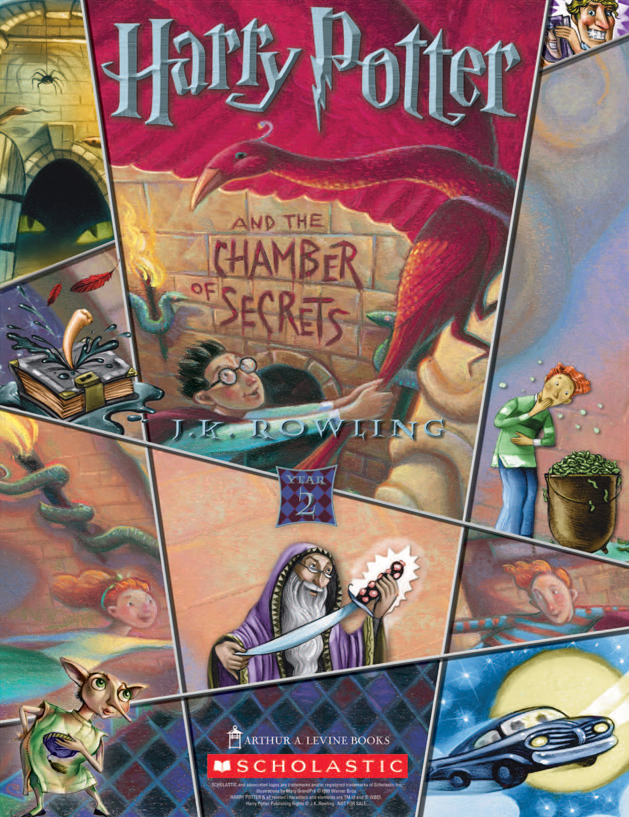 Chamber Of Secrets Year 2 Scholastic Promotional