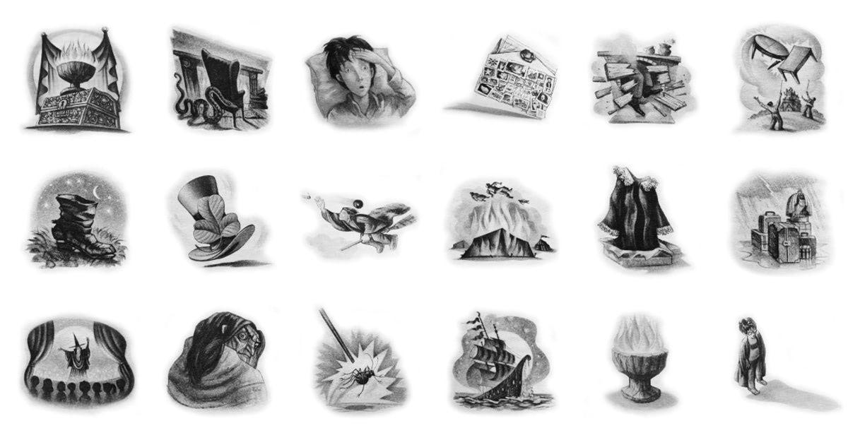 'Order of the Phoenix' chapter art — Harry Potter Fan Zone