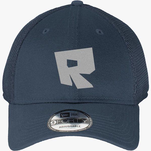 Roblox Logo New Era Baseball Mesh Cap Embroidered Hatsline Com