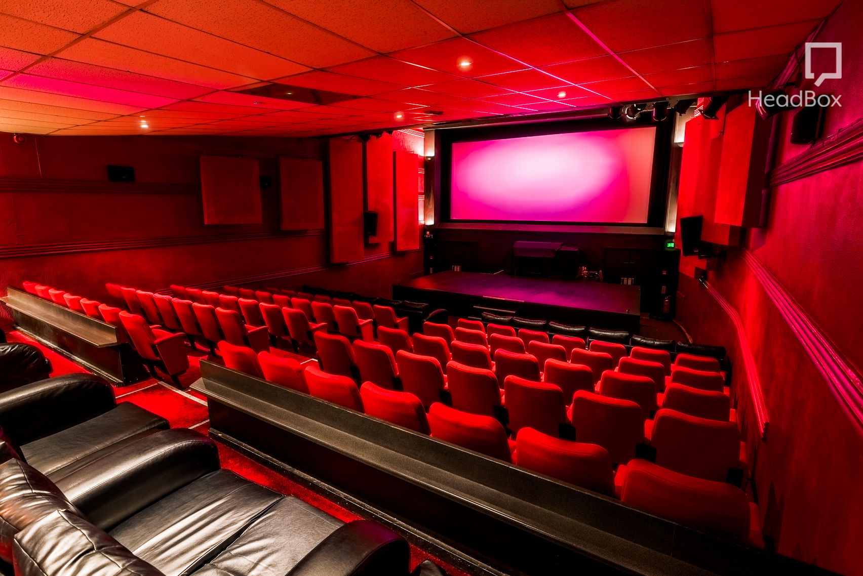 floor seating sofa uk measurements of a bed book screen one, the electric cinema (birmingham) – headbox