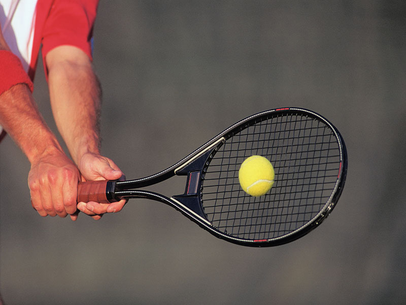 News Picture: Get in Shape for Tennis and Other Racquet Sports