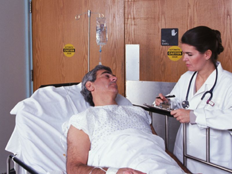 News Picture: Better Blood Test May Spot Heart Attack Faster