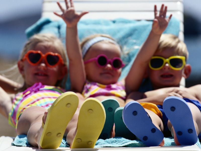 News Picture: Time for Some Summer Sun Safety Tips